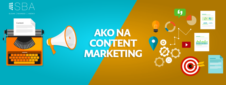 Ako na content marketing